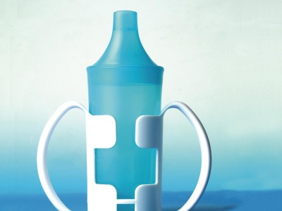 2 Handle Translucent Beaker & 2 Lids