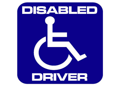 Disabled Driver Square