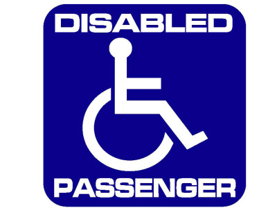 Disabled Passenger Square